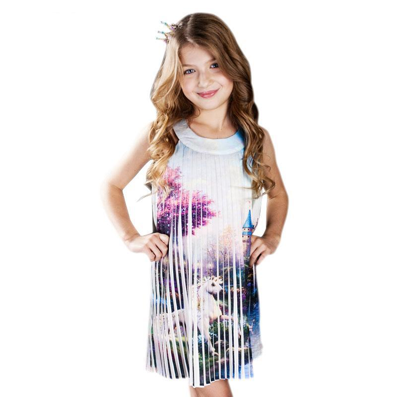 Unicorn Dress - Kids Summer Unicorn Dress!