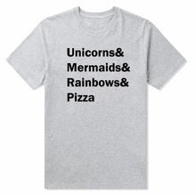 Unicorn-mermaid-rainbows-pizza T-shirt