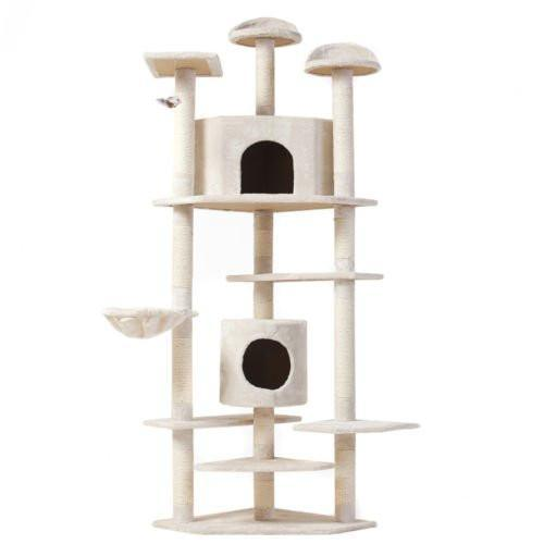 "Cat Tree 80"" Condo Furniture Scratching Post-Pet Supplies-Balabe"
