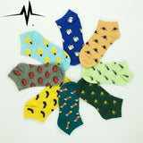 New style women's sock cute fruit banana-Balabe