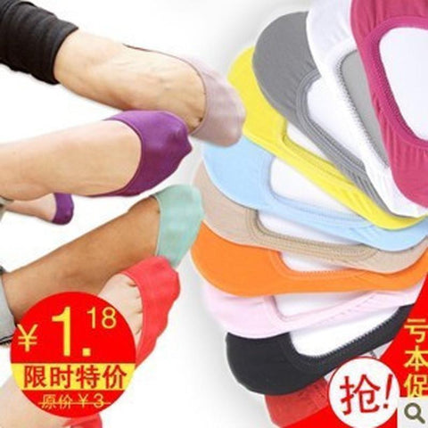 13 color Warm comfortable cotton women's socks ankle invisible-Balabe