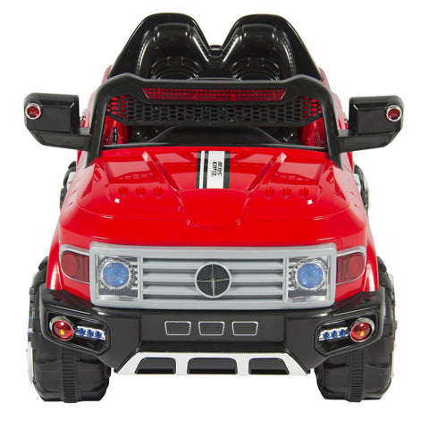 12V MP3 Kids Ride on Truck Car R/c Remote Control, LED Lights-Kids Ride-Balabe