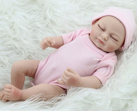 "11"" Handmade Real Looking Newborn Baby-Doll-Balabe"