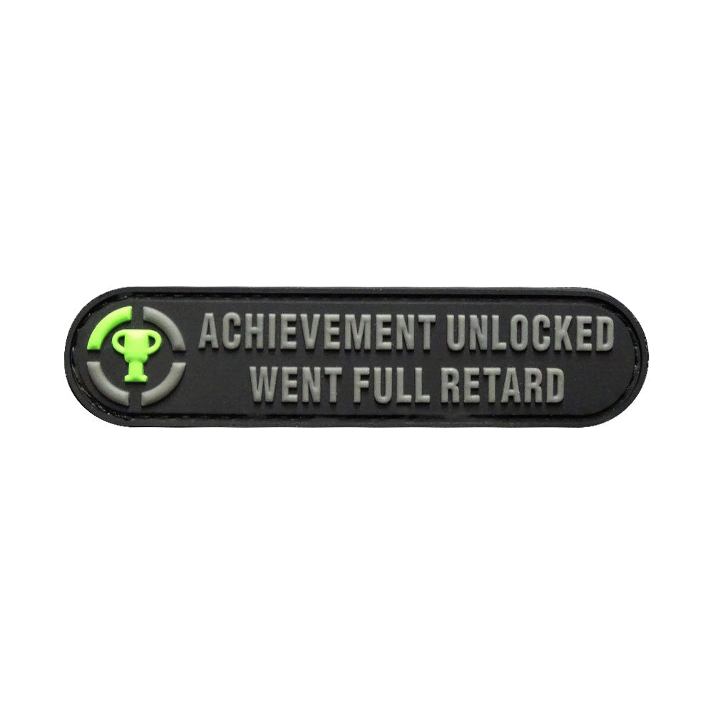 Achievement Unlocked Patch (Embroidered Hook) – MILTACUSA