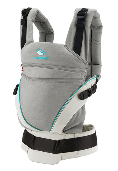 NEW ! manduca XT Cotton grey/ocean