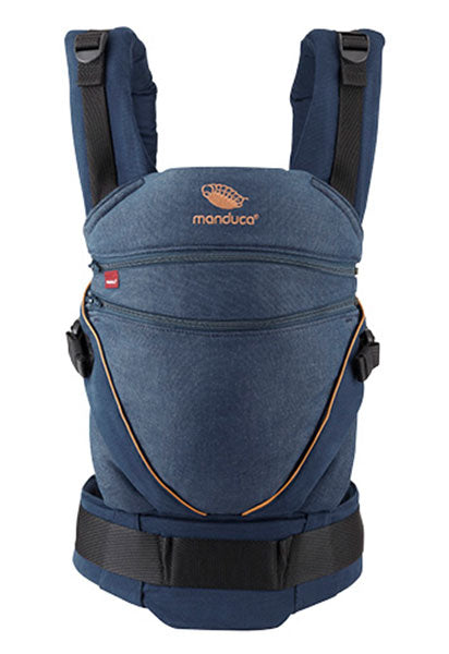NEW ! manduca XT Pure Cotton - DenimBlue/Toffee - back in stock Sep 30th