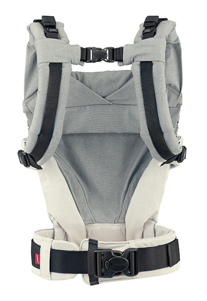 NEW ! manduca XT Pure Cotton - Grey/White & FREE fumbee strap covers chocolate (twin-pack) rrp$29.95