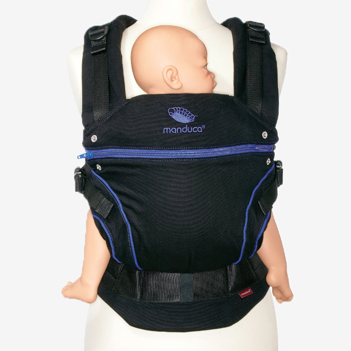manduca blackline carrier - blue