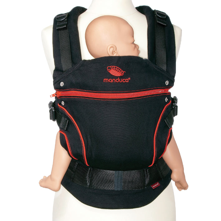 manduca blackline baby carrier red