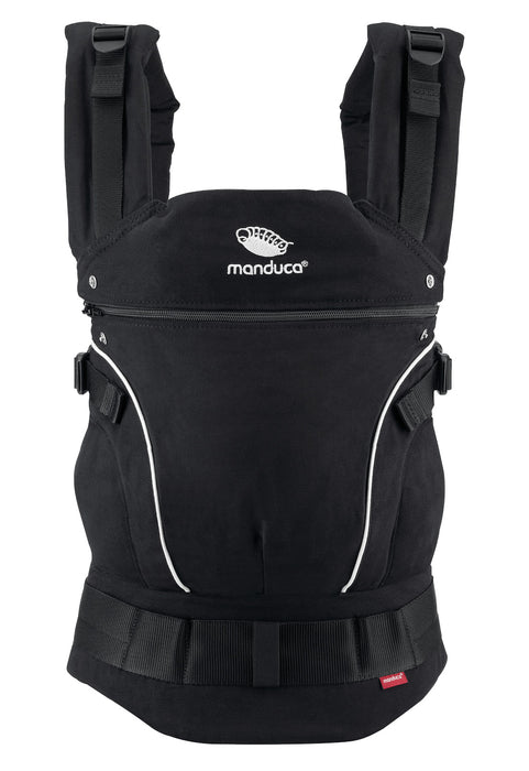 manduca First pure cotton carrier - night black