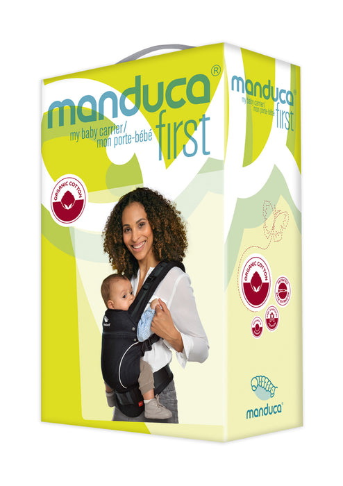 manduca pure cotton carrier - dark grey
