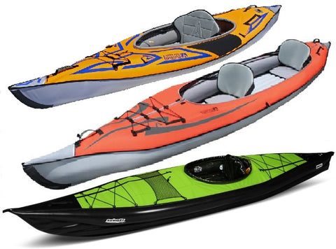 Inflatable & Frame Kayaks