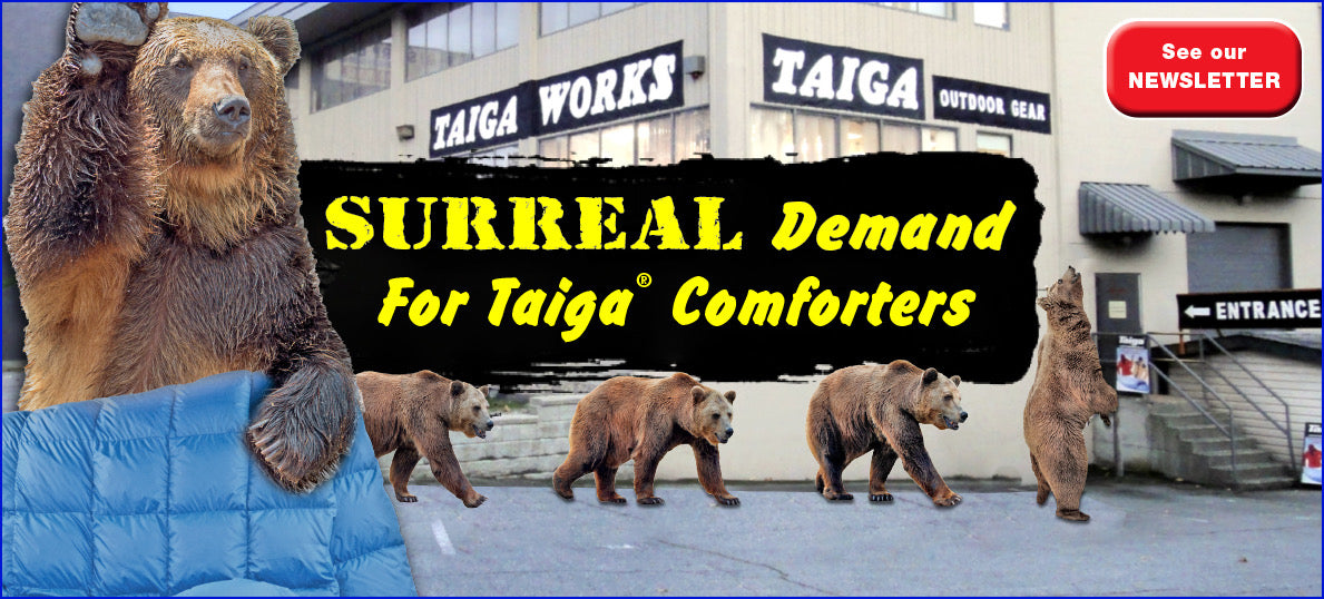 Newsletter 2020 issue 18 | Taiga Works.com Outdoor Gear Vancouver Canada