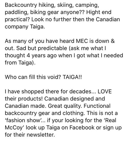 comments from customers