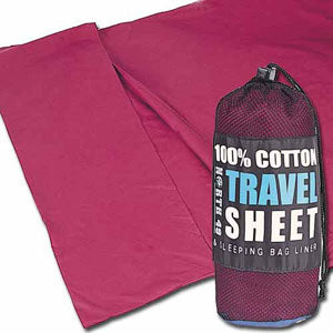 Sleeping Bag Liner (cotton/polyester) - Taiga Works