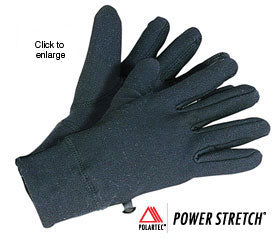 Polartec Powerstretch® Gloves (Women's) - Taiga Works