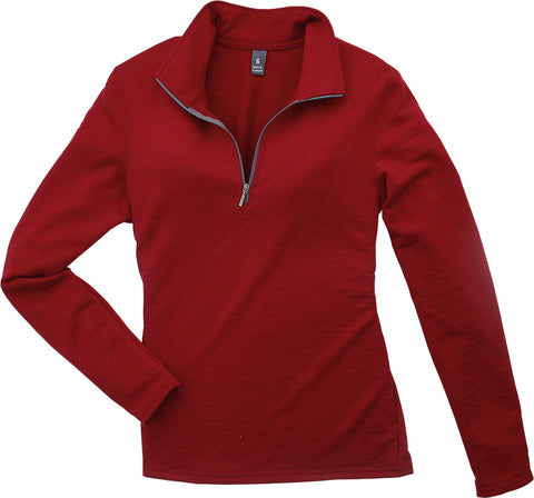 Merino-260 Zip Shirt (Women's) - Taiga Works