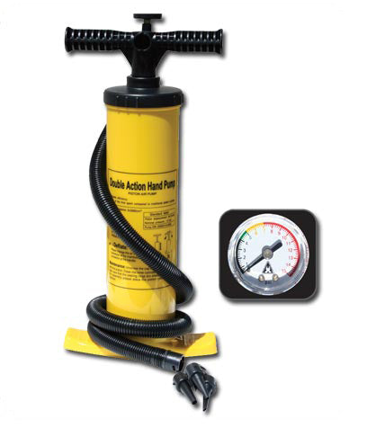 Kayak Hand Pump with built-in gauge - Taiga Works