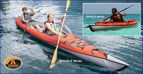 Advanced Elements AdvancedFrame® Convertible Elite Kayak - Taiga Works