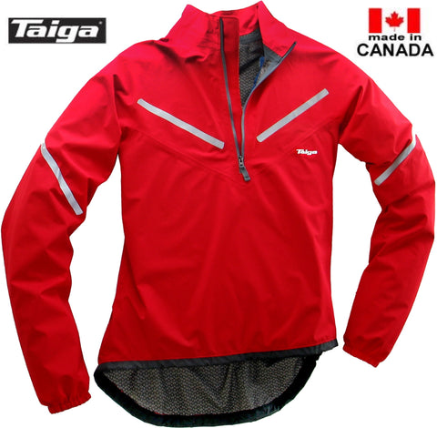 Cycle Anorak Rain Jacket - Taiga Works