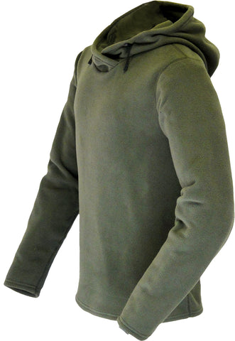 Microfleece Crewneck Hoodie (Men's) - Taiga Works
