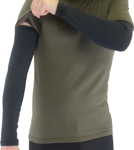ARM WARMERS Merino or Fleece - Taiga Works