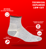 J.B.FIELD'S - 4 Seasons Technical Explorer Socks-Quarter