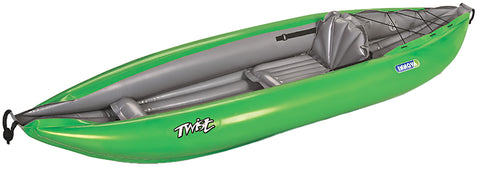 Twist 1-Green INFLATABLE Kayak - Taiga Works