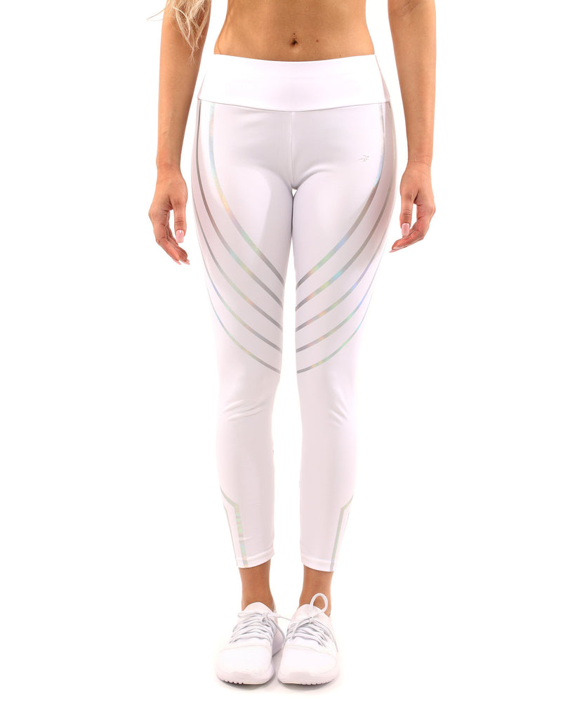 Laguna Leggings - White - steele-gray-rose
