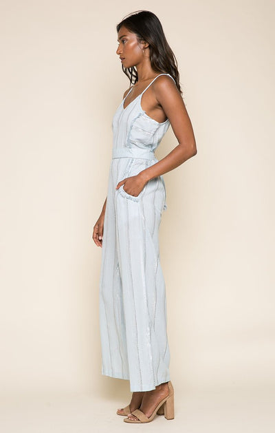 Skyla Jumpsuit - steele-gray-rose