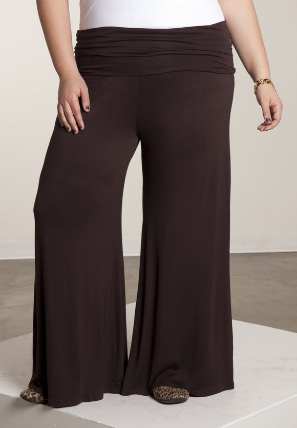 Perfect Palazzo Pants - steele-gray-rose