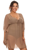 Chiffon Beach Dress Swimwear Cover-Up