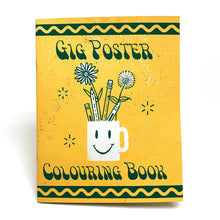 Gig Poster Adult Colouring Book