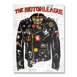 The Motorleague Gig Poster