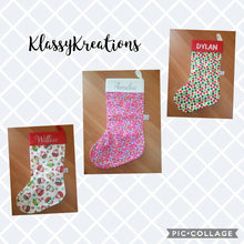 Personalised Christmas Stockings - Quality Handmade (Any Name)
