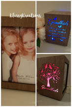 Light Up/Colour Change Photo Cube - Swivel