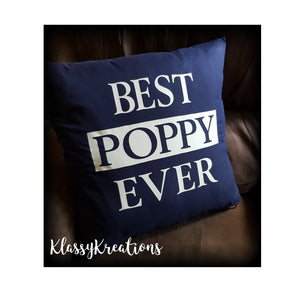 Personalised Cushion - BEST ........ EVER