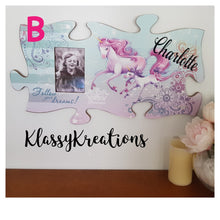 Personalised Unicorn Frame - Any Name