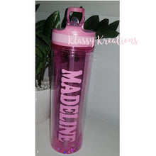 Personalised Glitter Drink Bottle 500ml