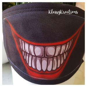 (Size XLarge) Adult Reusable Mask - with filter