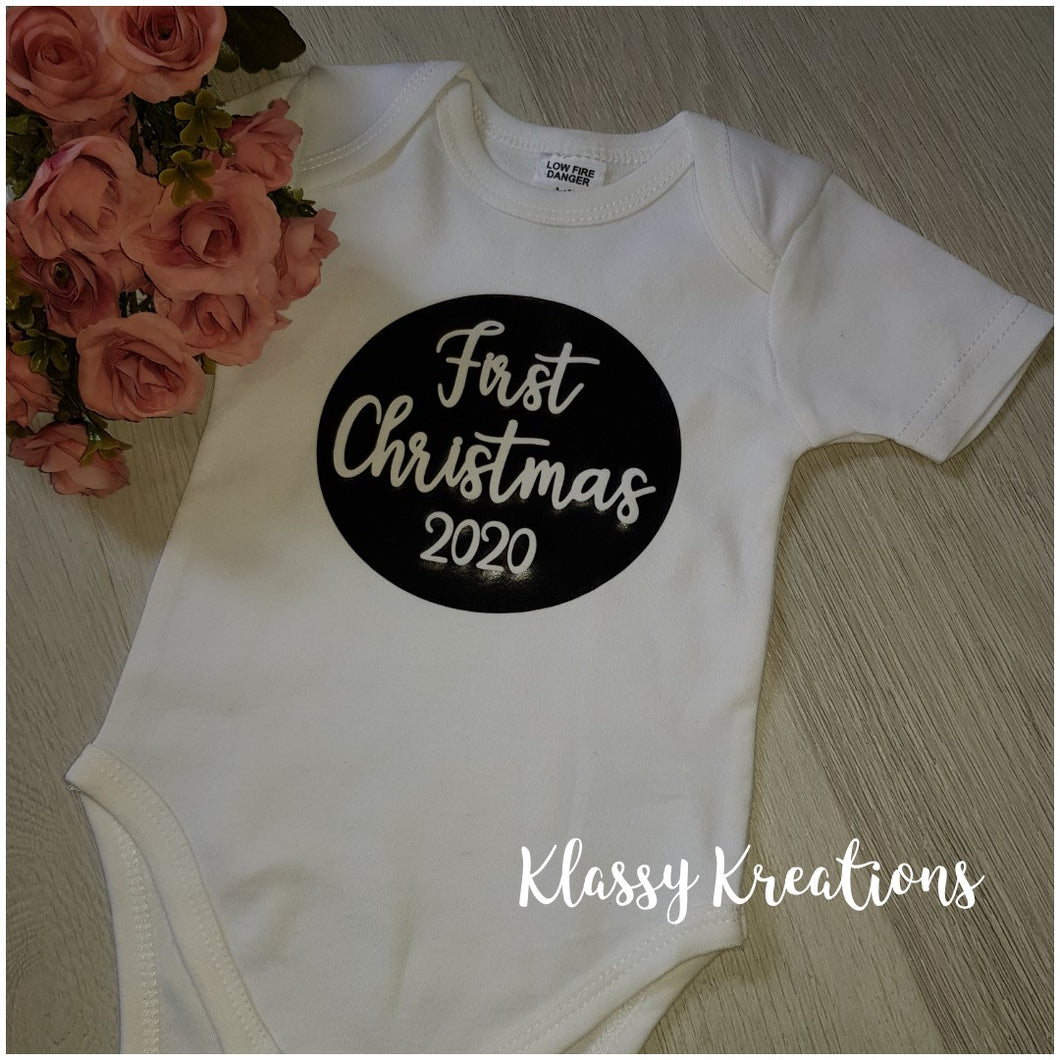FIRST CHRISTMAS 2020 - Baby Bodysuit
