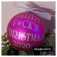 Merry F*ck'n Christmas 2020 - Bauble