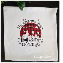 I'm dreaming of a Hogwarts Christmas - Cushion