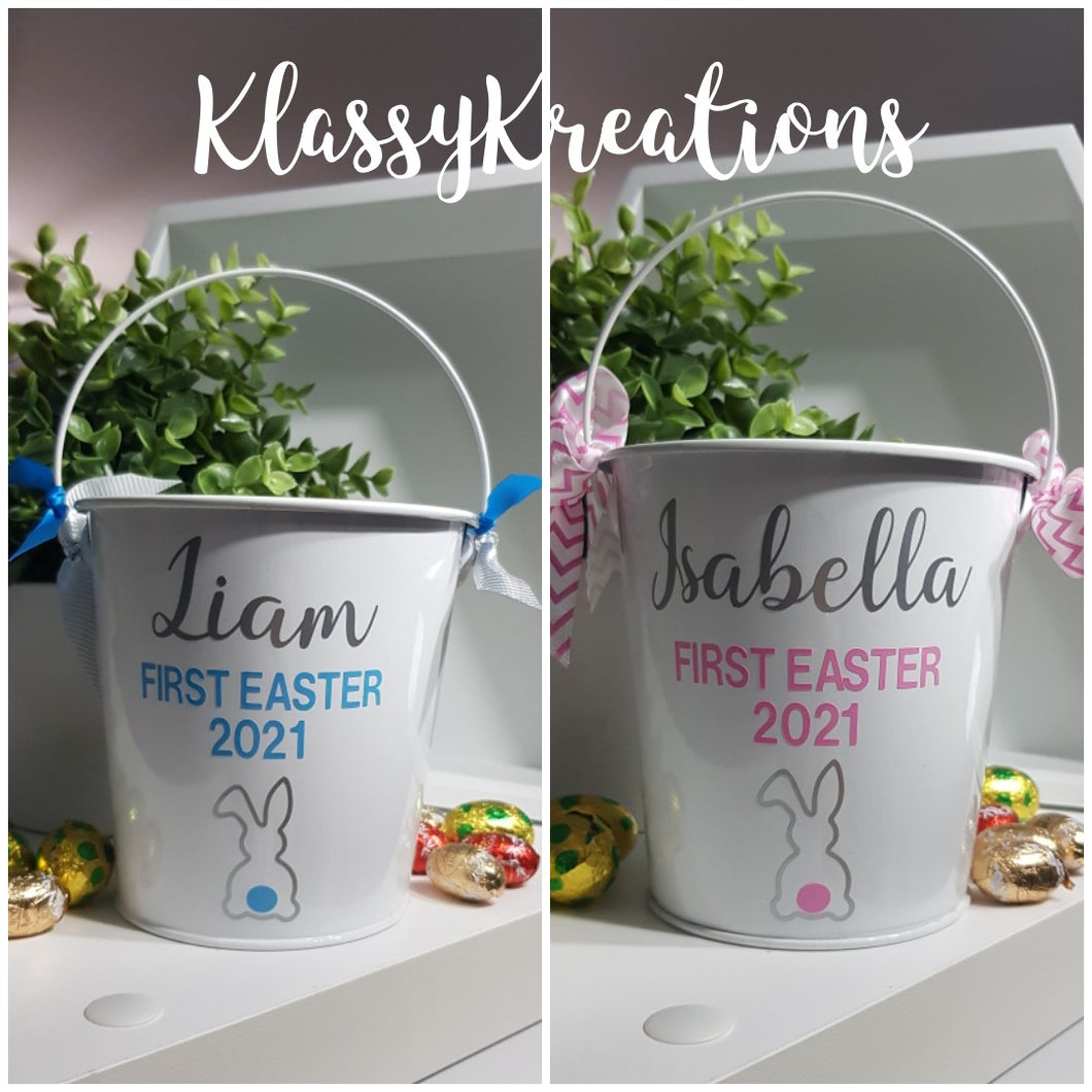 FIRST EASTER BUCKET - ANY NAME