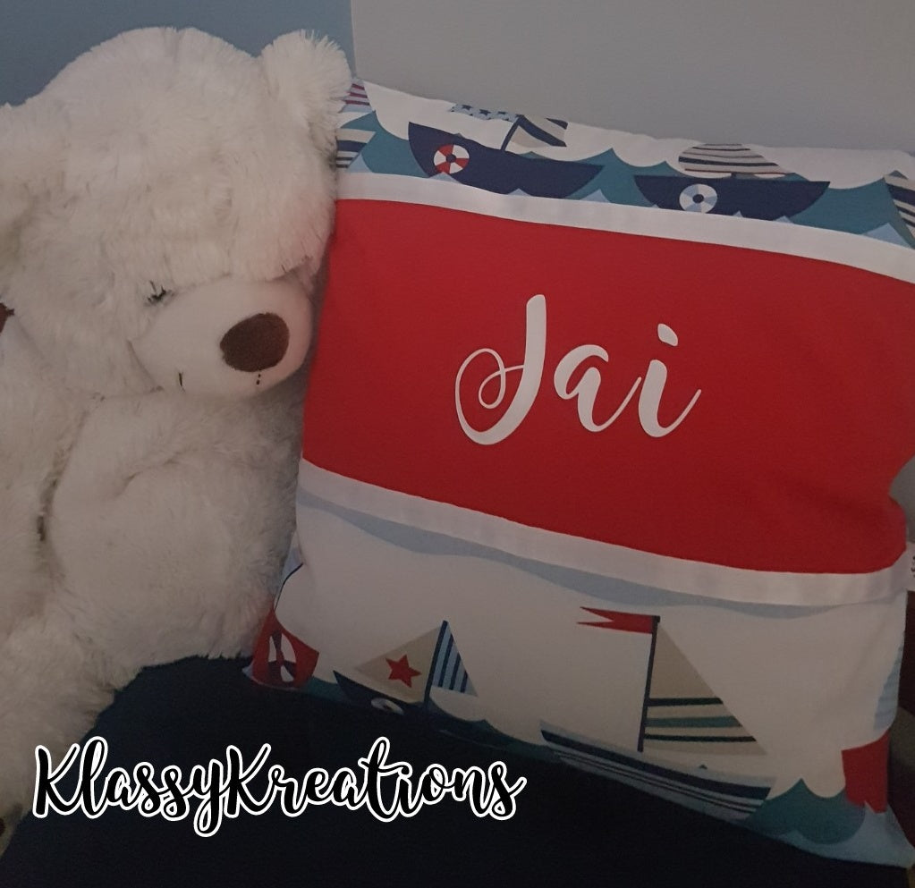 Personalised Childrens Character Cushion & Insert