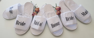 Wedding Slippers
