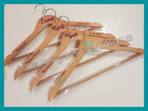 Wedding Coat Hangers