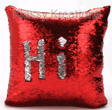 REVERSIBLE SEQUIN CUSHION
