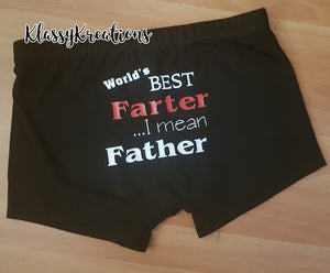 Mens Trunks Father's Day