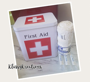 Medical/ First Aid Tin